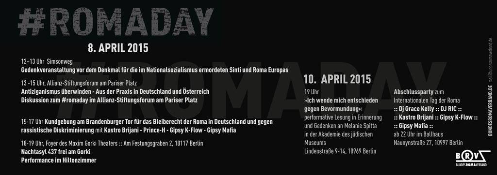 Programm 8 April